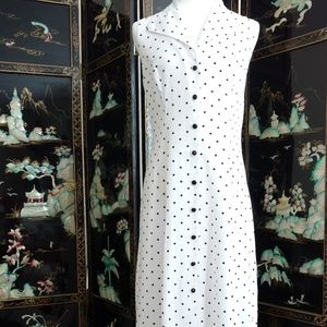 Maxi White & Black Sundress - Casual Elegance